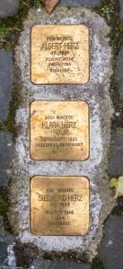 Albert, Siegmund und Klara Herz